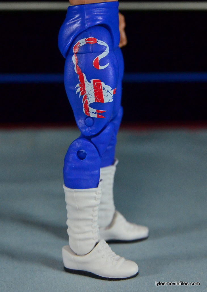 Sting Defining Moments figure review - Scorpion logo
