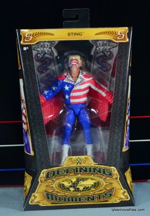 Sting Defining Moments figure review - front package