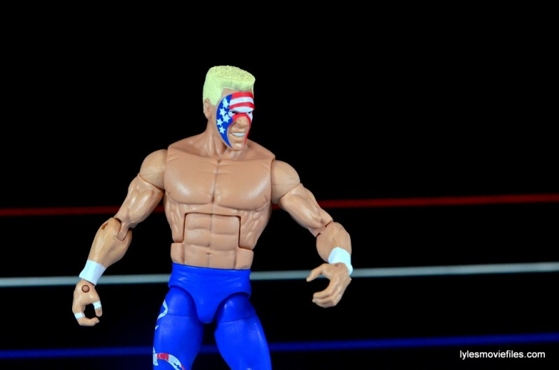 Sting Defining Moments figure review - wide arm