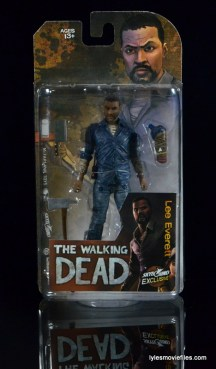 The Walking Dead Lee Everett McFarlane Toys figure - front package