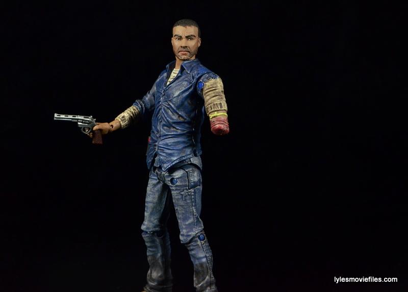 The Walking Dead Lee Everett McFarlane Toys figure -holding gun