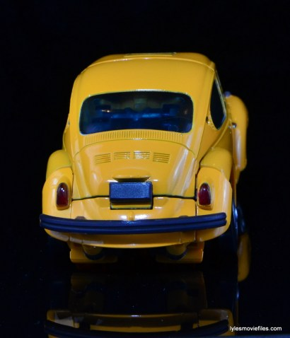 Transformers Masterpiece Bumblebee review -auto mode rear
