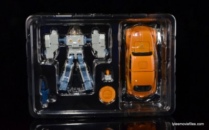 Transformers Masterpiece Bumblebee review -in plastic tray