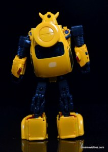 Transformers Masterpiece Bumblebee review -rear side