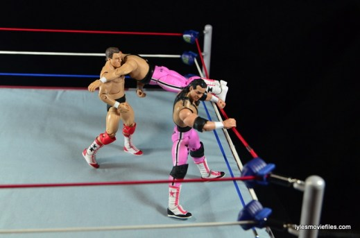 WWE Elite 43 Hart Foundation figures -Anvil catapult to Tully