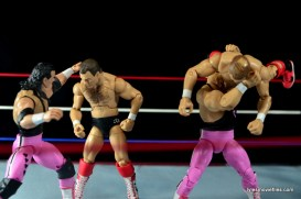 WWE Elite 43 Hart Foundation figures - vs Brain Busters