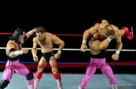 WWE Elite 43 Hart Foundation figures - vs Brain Busters