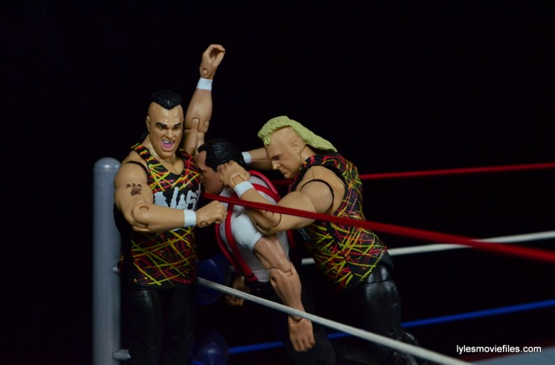 WWE Nasty Boys Elite 42 -Pit Stop to IRS