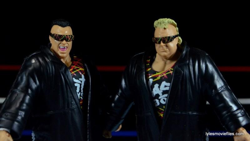 WWE Nasty Boys Elite 42 -jackets on closeup