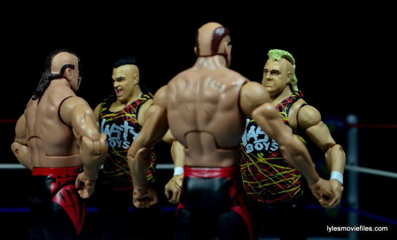 WWE Nasty Boys Elite 42 -showdown with LOD