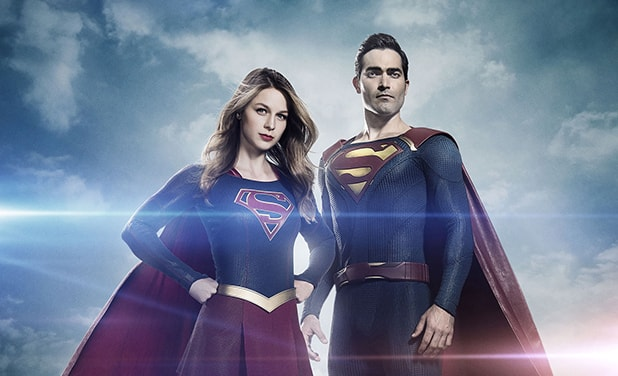 supergirl's superman - Melissa Benoist and Tyler Hoechlin-min
