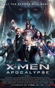 x-men apocalypse movie poster