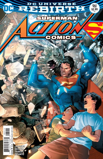 Action Comics 961 review - cover