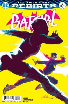 Batgirl #2 review Beyond Burnside cover