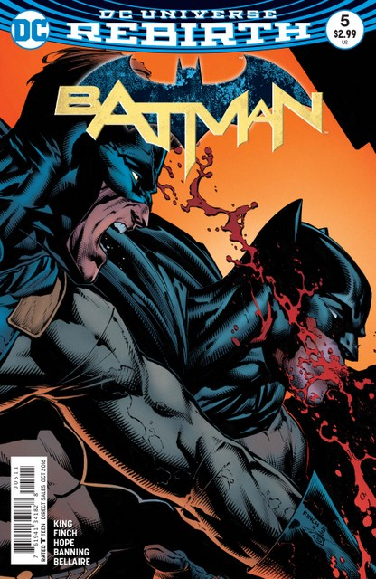 Batman #5 I Am Gotham part 5 review - cover