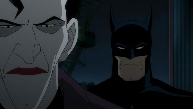 Batman The Killing Joke review - The Joker and Batman face off