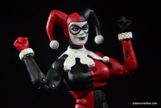 DC Icons Harley Quinn figure review -excited Harley