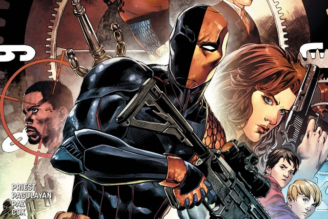 Deathstroke #1 review - main cover