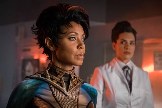 Gotham A League of Horribles review - Jada Pinkett Smith as Fish Mooney