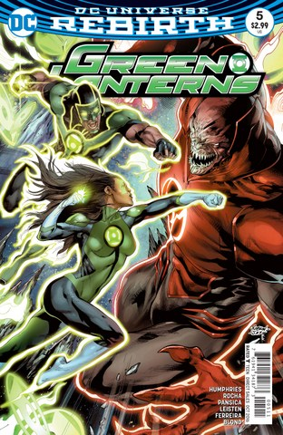 Green Lanterns #5 review cover