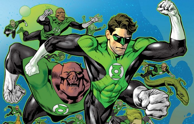 Hal Jordan and the Green Lantern Corps #3 review variant cover