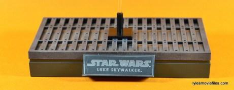 Hot Toys Luke Skywalker figure review -figure stand