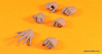 Hot Toys Luke Skywalker figure review -hands