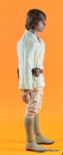 Hot Toys Luke Skywalker figure review -right side