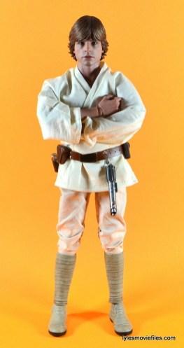 Hot Toys Luke Skywalker figure review -straight
