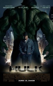 Incredible Hulk movie poster