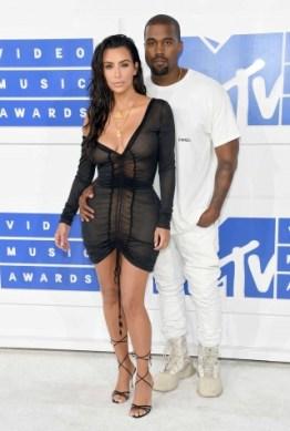 MTV Music Awards 2016 - Kim Kardashian and Kanye West