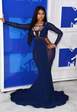 MTV Music Awards 2016 - Nicki Minaj leaning