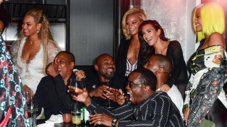 MTV Music Awards 2016 - after party Beyonce, Jay-Z, Kim Kardashian, Kanye West, Cassie and Sean Combs