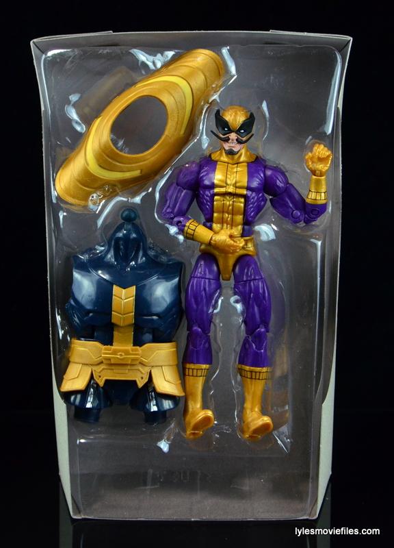 Marvel Legends Batroc figure review -in plastic tray