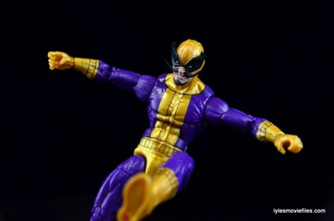 Marvel Legends Batroc figure review -kicking