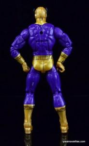 Marvel Legends Batroc figure review -rear