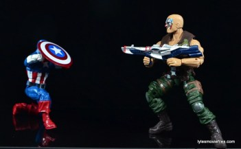 Marvel Legends Nuke review - vs Captain America