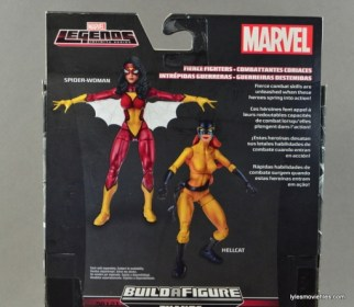 Marvel Legends Spider-Woman figure review - bio