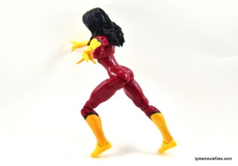 Marvel Legends Spider-Woman figure review - hip range