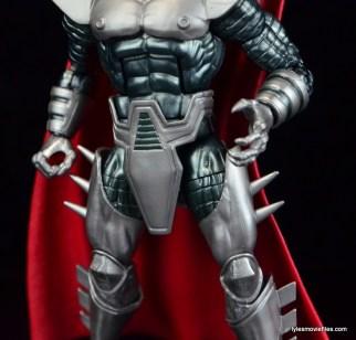 Marvel Legends Stryfe figure review -armor detail