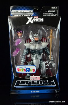 Marvel Legends Stryfe figure review - front package