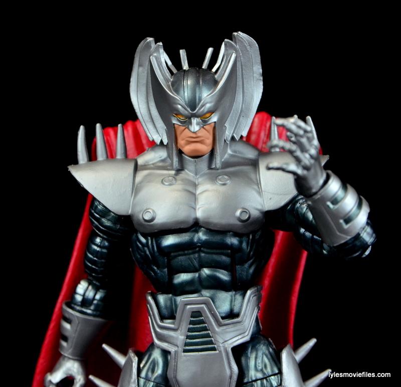 Marvel Legends Stryfe figure review - hand up