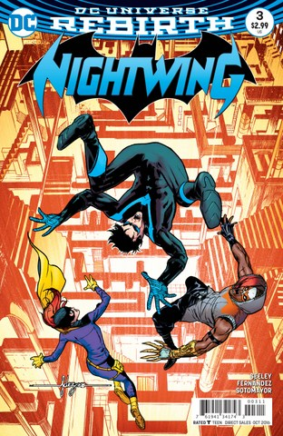 Nightwing #3 review cover
