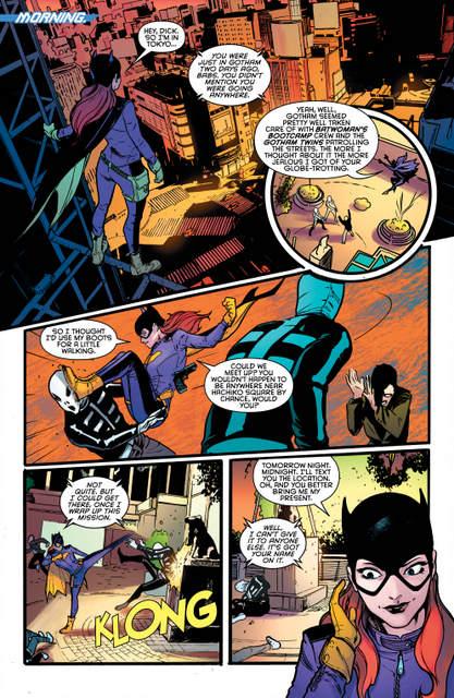 Nightwing isue 2 Better than Batman page 5