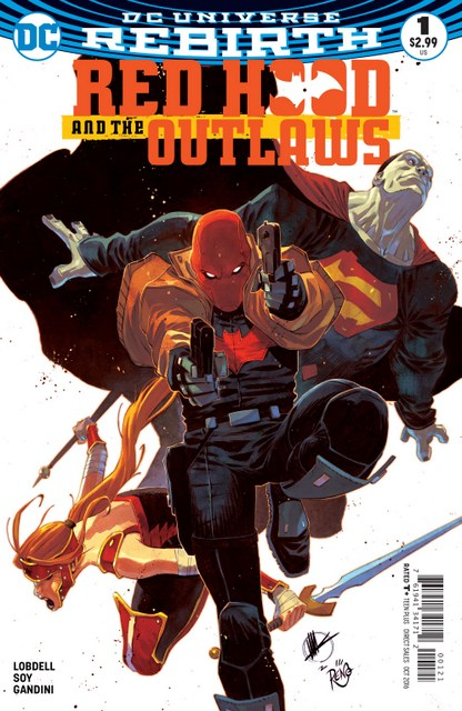 Red Hood and the Outlaws issue 1 review variant cover
