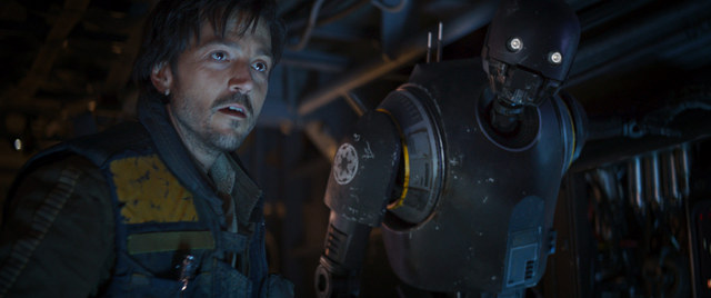 Rogue One - Cassian Andor and K-2SO