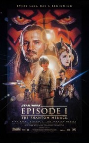 Star Wars Episode 1 The Phantom Menace movie poster