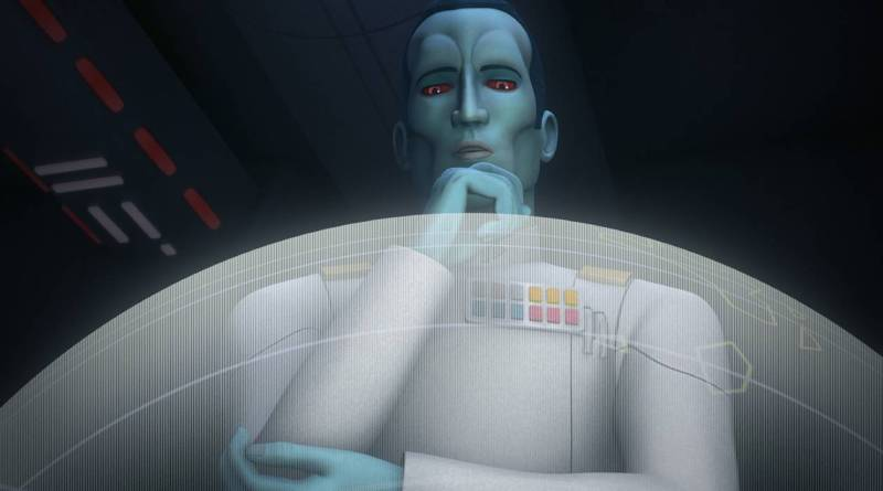 Star Wars Rebels Season 3 General Admiral Thrawn