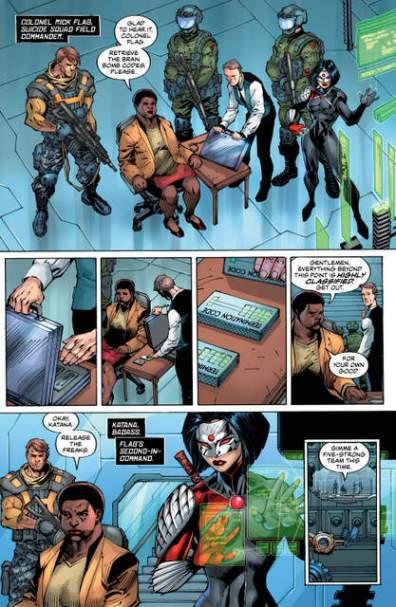 Suicide Squad #1 review page 4