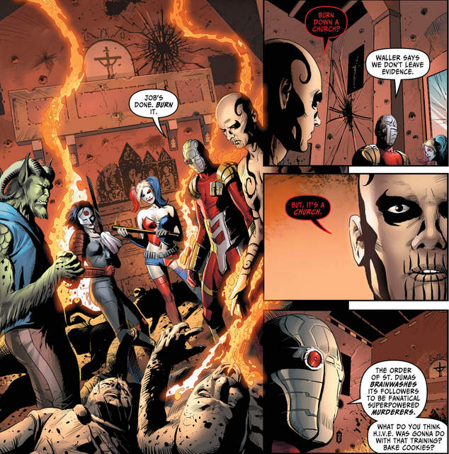 Suicide Squad Most Wanted #1 review  El Diablo